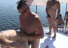 Off Shore Gang Bang – Part 1