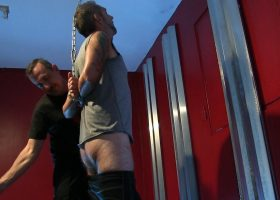 Bound Spanked and Barebacked