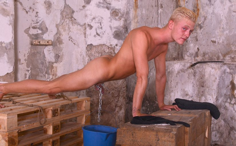 Nervous New Blond Boy Cain Part 2